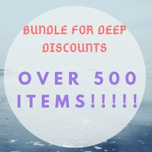 Bundle more and save! New inventory daily!!!